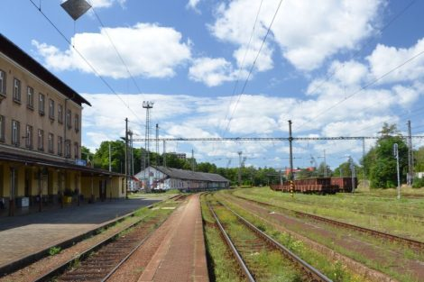 Nádraží Jihlava město. Pramen: Správa železnic