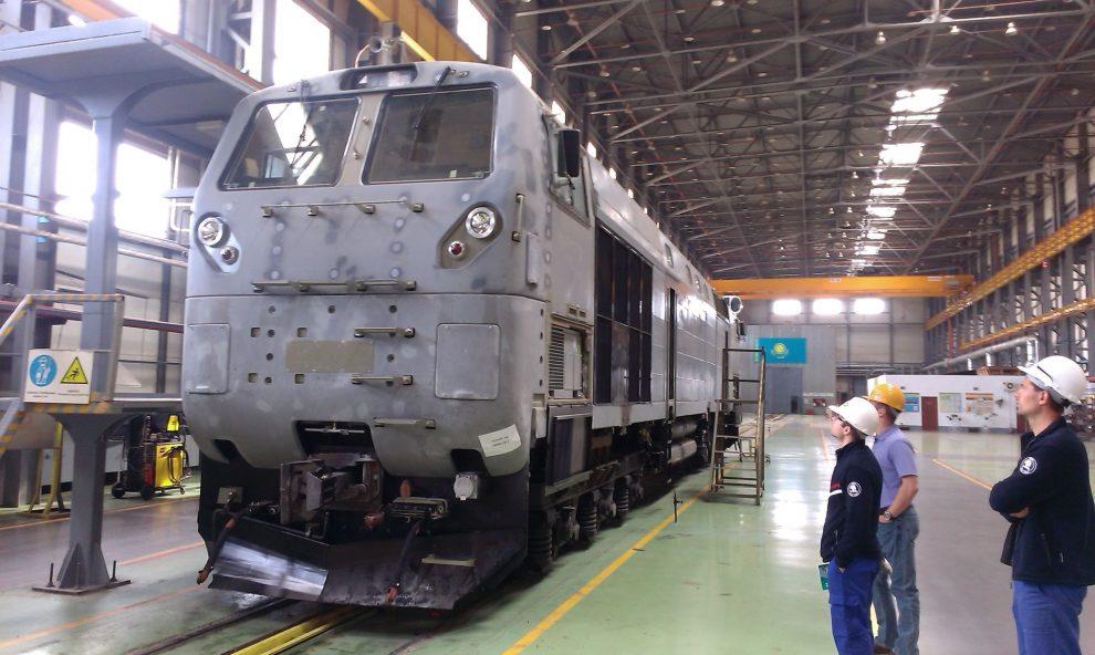 Lokomotiva pro Kazachstán. Pramen: Škoda Transportation