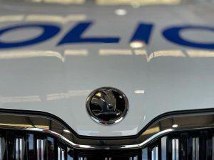 Nová Škoda Suberb novozélandské policie. Pramen: New Zealand Police