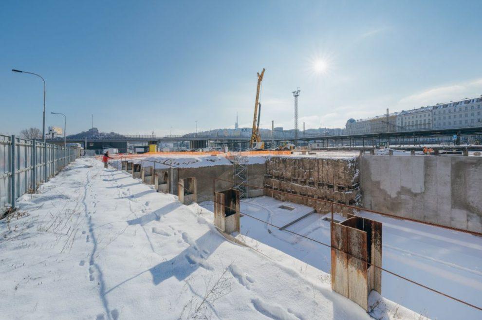 V ulici Na Florenci začíná Penta stavět podle architektky Zahy Hadid. Pramen: Penta Real Estates