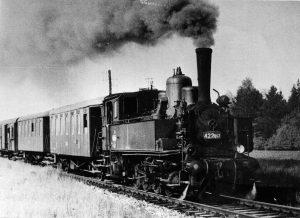 Parní lokomotiva řady 422.0. Autor: Antonín Tuzar/sbírka Jiří Pohl