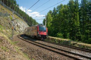 Railjet Rakouských spolkových drah. Pramen: Siemens