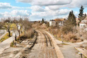 Stará trať přes Strašnice mizí. Pramen: ROPID
