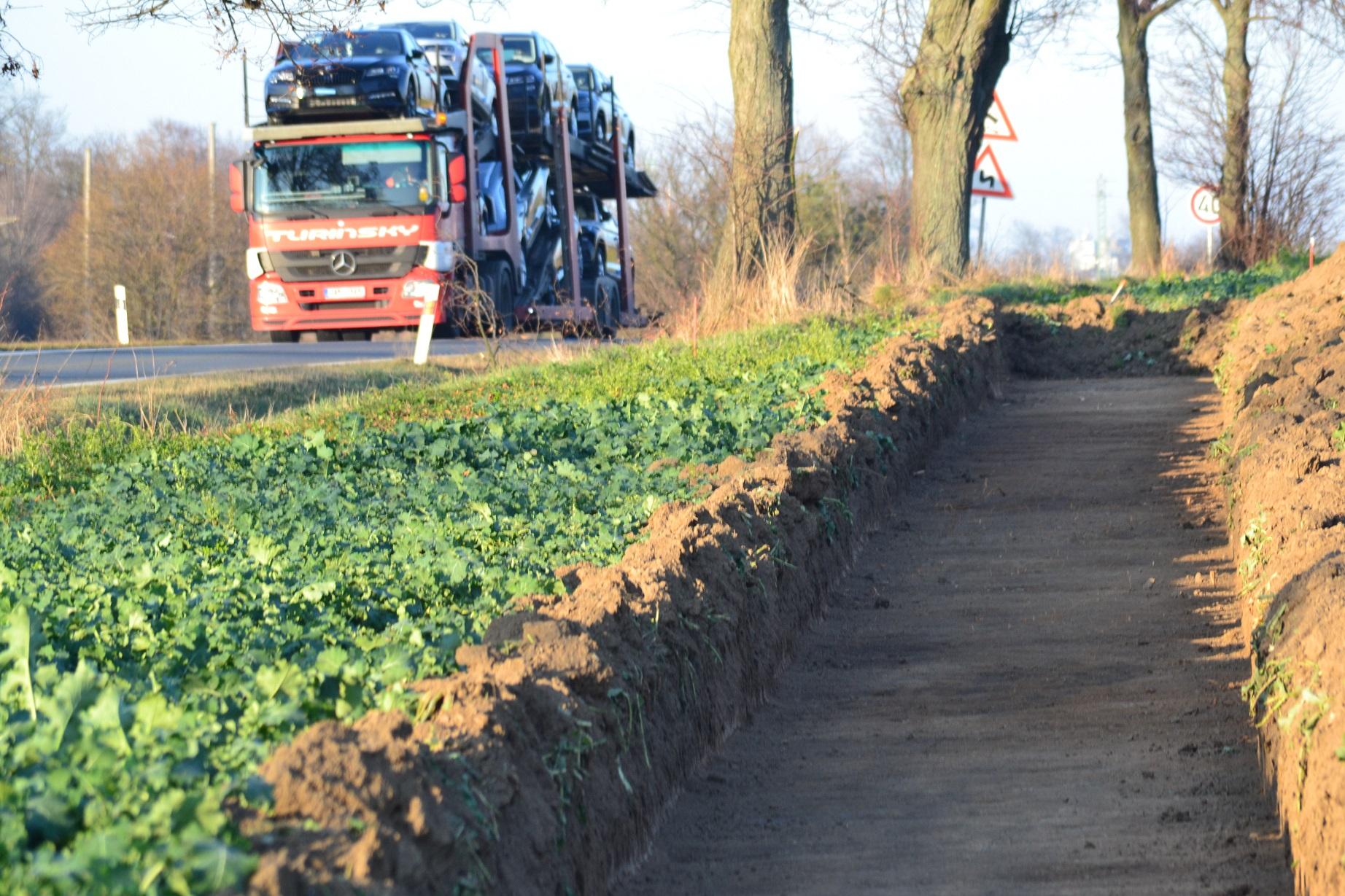 Silnice I/43 a příprava stavby obchvatu Svitav. Pramen: ŘSD