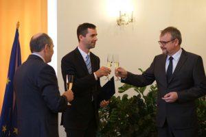Tomáš Čoček (uprostřed). Foto: MD