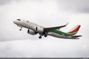 První A320neo pro Air Côte d'Ivoire. Foto: H. Goussé / Airbus