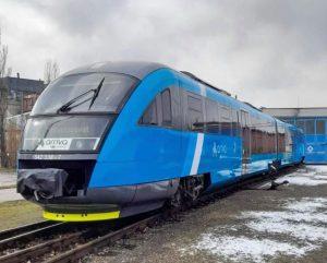 Siemens Desiro v korporátních barvách Arrivy. Foto: Arriva vlaky
