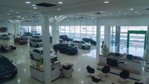 Nový showroom Škody Auto v Dubaji. Foto: Škoda Auto