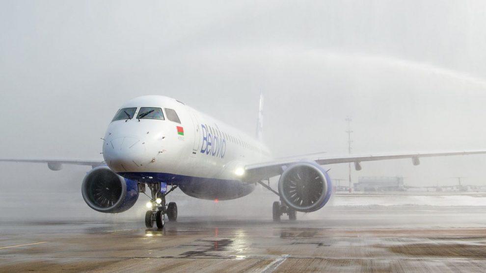 Druhý Embraer E195-E2 pro Belavia Airlines. Foto: Belavia