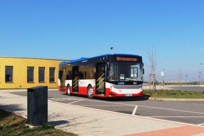 Nový autobus BMC Procity 10.6. Foto: Ropid