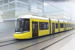 Nová podoba tramvají Flexity pro Berlín. Foto: Alstom