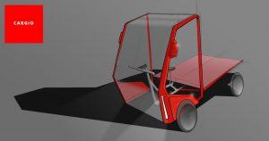 Skica nového nákladního kola Cargio. Foto: Cargio