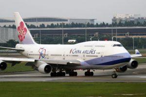 Boeing 747-400 společnosti China Airlines v Kantonu. Foto: byenagel / Flickr.com