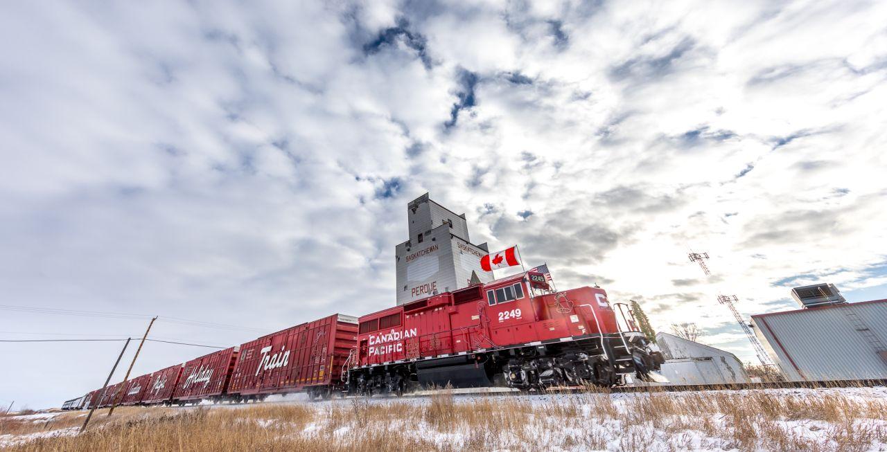 Nákladní vlak Canadian Pacific. Foto: CP