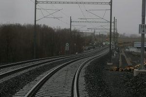 Sanace trati v úseku Dalovice - Hájek. Foto: Jan Plomer