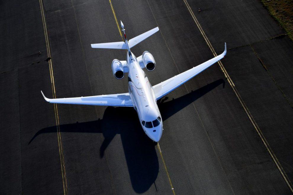 První let Falcon 6X. Foto: Dassault Aviation