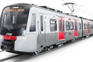 Vizualizace nových jednotek pro provoz v okolí Neapole. Foto: Stadler Rail