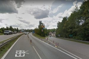 Silnice I/38 v Jihlavě. Foto: Google Street View