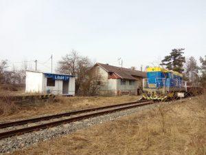 Zastávka Libáň na trati Dolní Bousov - Kopidlno. Foto: AŽD Praha