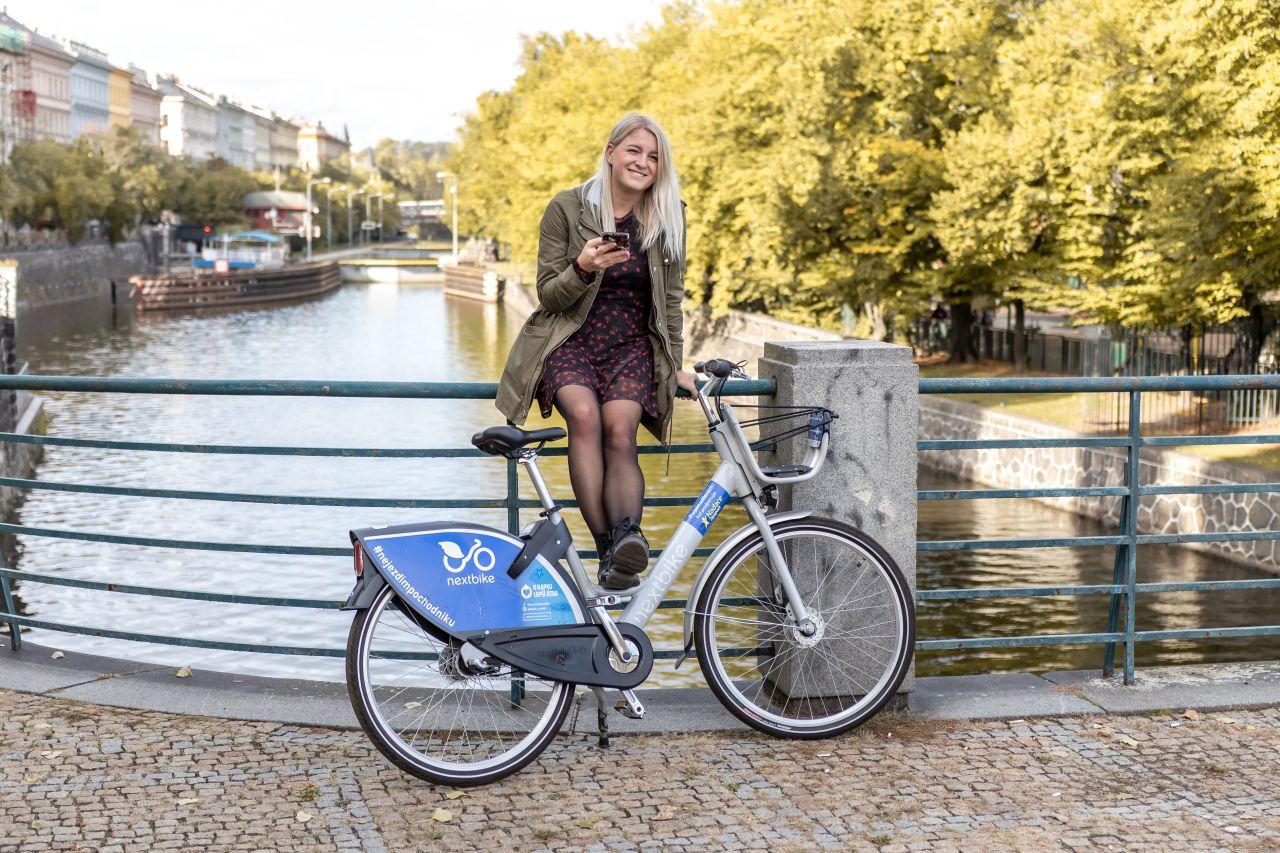 Kolo Nextbike v Praze. Foto: Nextbike
