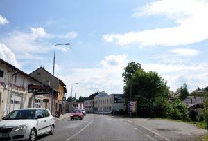 Silnice I/16 v Nové Pace. Foto: Janos Korom /Flickr.com