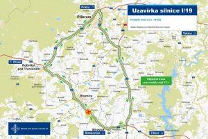 Objízdné trasy kvůli demolici mostu v Počaplech. Foto: ŘSD