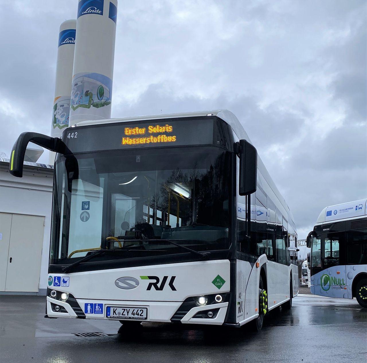 Solaris Urbino s vodíkovým pohonem. Foto: RVK