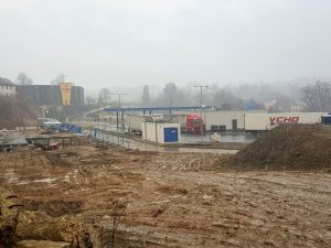 Trasa nového napojení do průmyslové zóny Sever v Liberci měla vést od čerpací stanice na silnici I/35. Foto: Jan Sůra / Zdopravy.cz