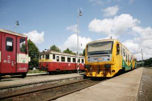 Provoz v Sušici v roce 2011. Foto: České dráhy