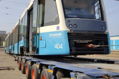 Opravená tramvaj M32 pro Göteborg. Foto: Ekova Electric