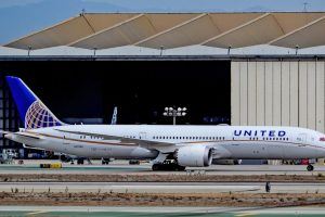 Boeing 787-9 v barvách United Airlines. Foto: Tomás Del Coro / Flickr.com