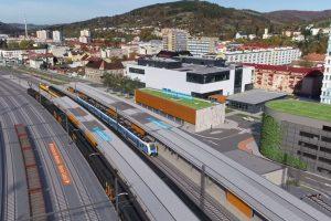 Vizualizace nové podoby stanice Vsetín. Foto: Správa železnic / Moravia Consult