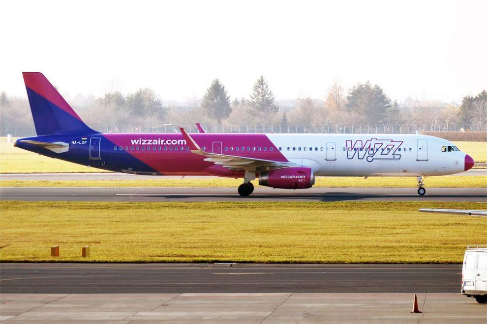 Airbus A321 společnosti Wizz Air. Foto: Anna Zvereva / Flickr.com