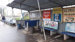 Odjezdové stání 48 na autobusovém nádraží Zvonařka v Brně. Foto: United Buses