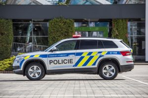 Škoda Kodiaq v policejním provedení. Foto: Škoda Auto