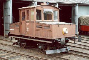 Lokomotiva Ringhoffer č. 2 v Jaroměři. Foto: Rainerhaufe / Wikimedia Commons