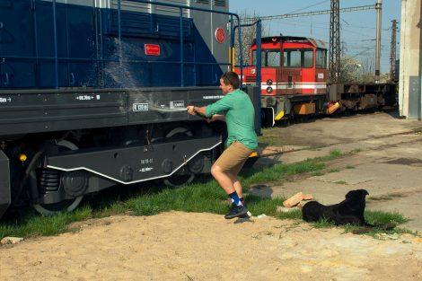Křest lokomotivy 740.739 společnosti WYNX Pool. Foto: Dalibor Palko