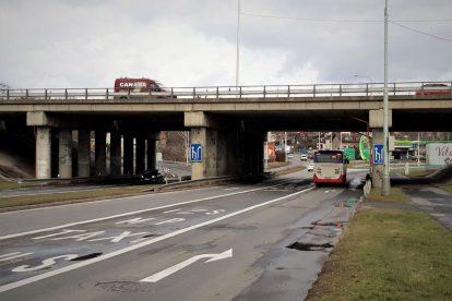 Most na pražském okruhu přes Chlumeckou. Pramen: ŘSD