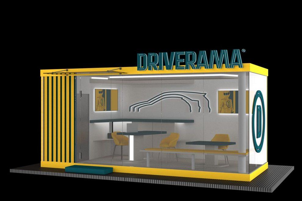Mikropobočka Driverama, vizualizace. Pramen: Aures Holdings