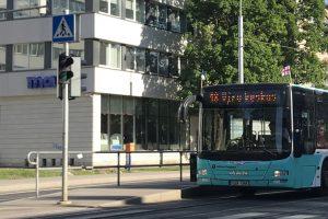 Veřejná doprava je v Estonsku většinou zdarma. Foto: Blomsterhagens, commons.wikimedia.org