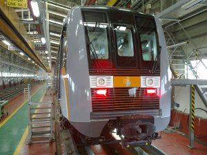 Automatické vozy metra pro Inčchon. Pramen: Škoda Transportation