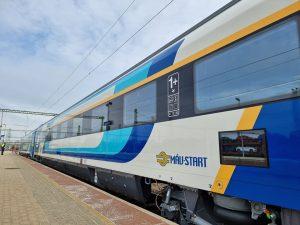 Vagon s třídou 1+ společnosti MÁV-Start. Pramen: MÁV