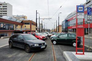 Zastávka Pankrác na nové tramvajové trati začne sloužit v červnu. Autor: Filip Drápal/ROPID