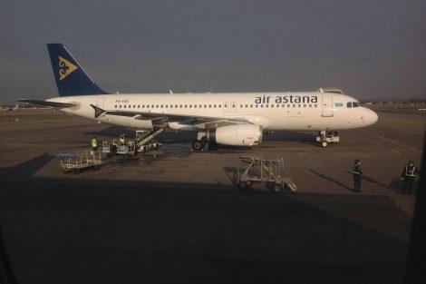 Letadlo Air Astana. Autor: Aleš Tondl