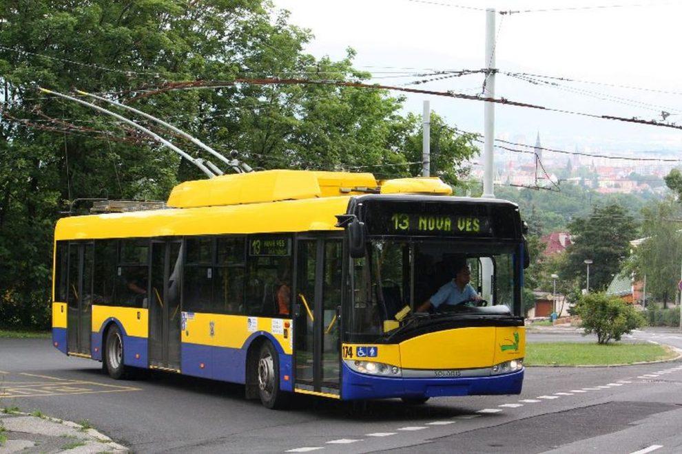 Trolejbus Škoda 26 Tr v Teplicích. Foto: I.Blu / Wkimedia Commons