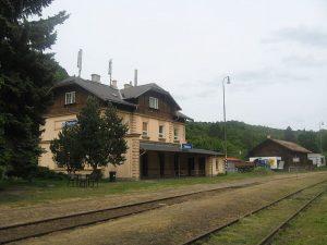 Nádraží v Telnici. Foto: Gortyna / Wikimedia Commons