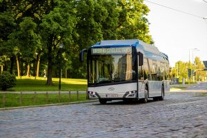 Elektrobus Solaris Urbino 12. Pramen: Siemens