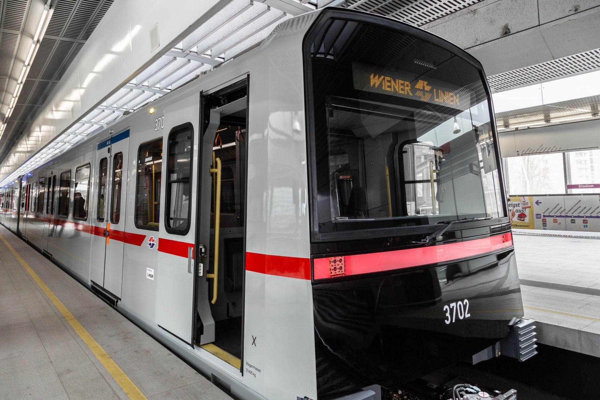 Automatická souprava vídeňského metra X-Wagen. Autor: Alexandra Gritsevskaja/Wiener Linien