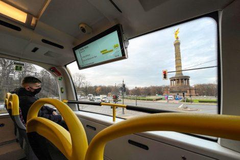 Autobus Enviro500 pro Berlín. Foto: Alexander Dennis