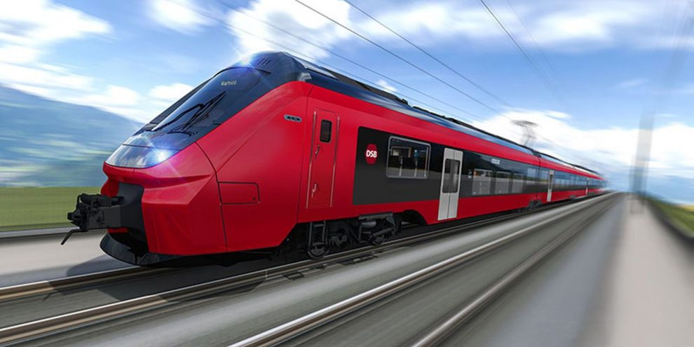 Jednotky Alstom Coradia Stream pro dánské státní dráhy. Foto: DSB